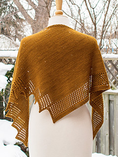 Bella Shawl by JumperCables - Annie Baker