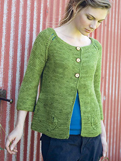 Greenfield Cardigan by Melissa LaBarre