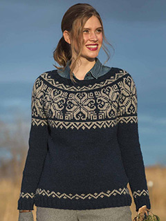Mount Lorne Pullover by Andrea Cull