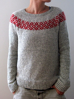 bubbly sweater by Isabell Kraemer